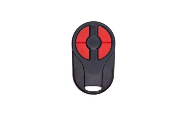 Пульт Nero Radio 8101-2m (двухканальный, черный красные кнопки)